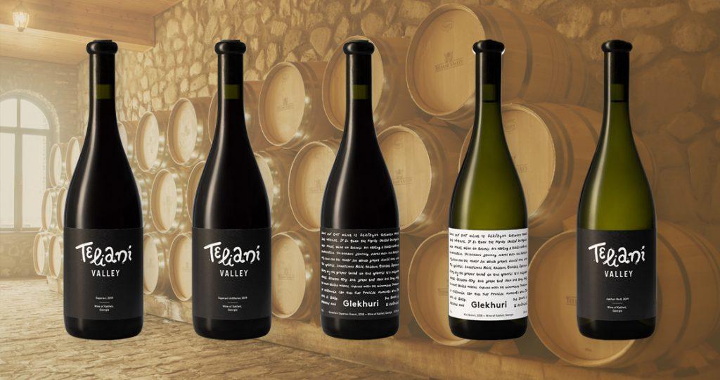 Teliani's wine range