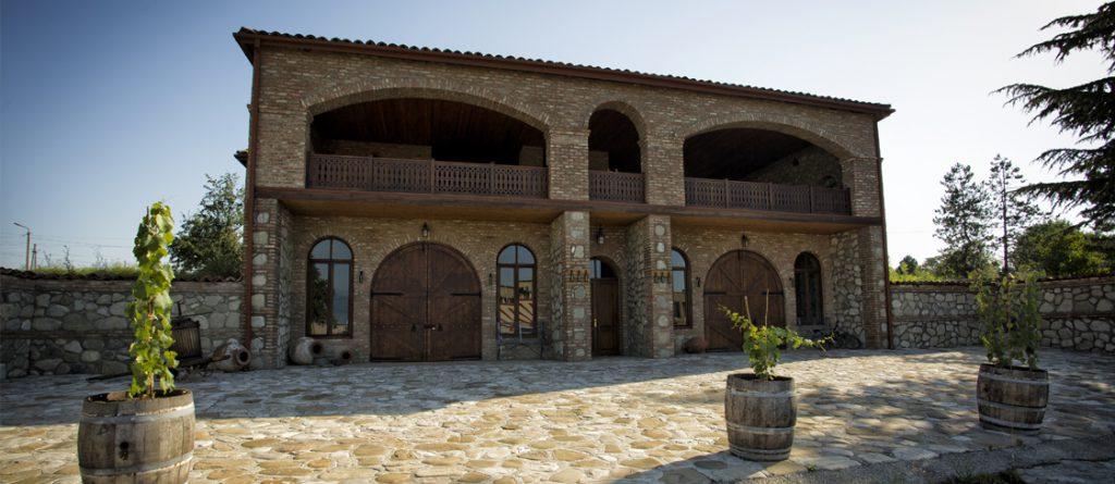 Teliani's vineyard in East Georgia